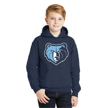 Load image into Gallery viewer, SKYLINE HS YOUTH WEAR – Youth Heavy Blend Hooded Sweatshirt (Navy)