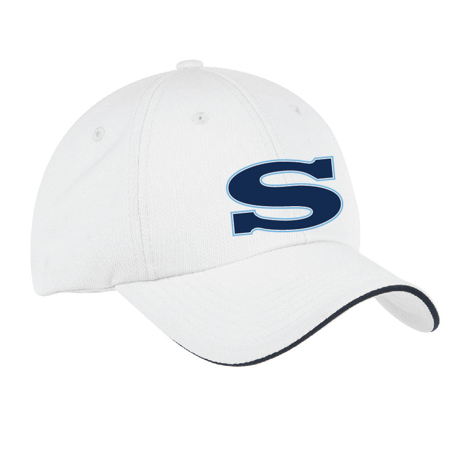 SKYLINE HS BASEBALL – Dry Zone Cap (Classic Navy/White)