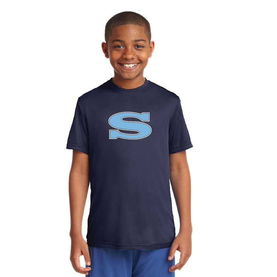 SKYLINE HS YOUTH WEAR  – Youth Moisture-Wicking Tee with