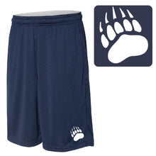 Load image into Gallery viewer, SKYLINE HS BASEBALL – 10-in. Shorts with Pockets (Navy)