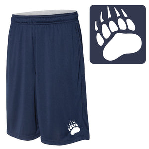 SKYLINE HS BASEBALL – 10-in. Shorts with Pockets (Navy)