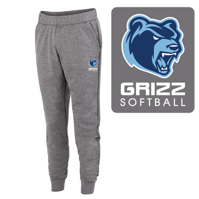 SKYLINE HS SOFTBALL – 5562 – Fleece Heather Jogger (Graphite)