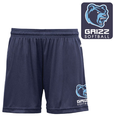 SKYLINE HS SOFTBALL – B-Core Girl's Short (Navy)