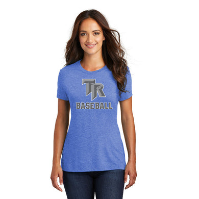 TRHS BASEBALL – Women's Perfect Tri Crew Tee (Royal Frost)