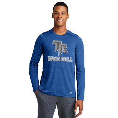 TRHS BASEBALL – Moisture-Wicking Long Sleeve Tee (Royal)