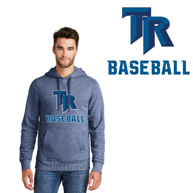 TRHS BASEBALL – French Terry Pullover Hoodie (Dark Royal Twist)