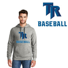 Load image into Gallery viewer, TRHS BASEBALL – French Terry Pullover Hoodie (Light Graphite Twist)