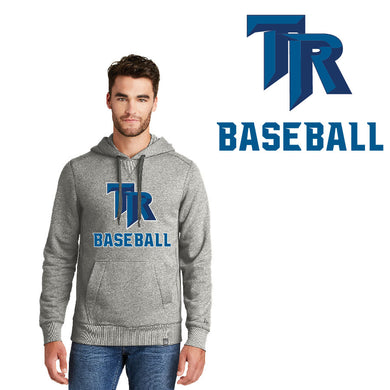 TRHS BASEBALL – French Terry Pullover Hoodie (Light Graphite Twist)