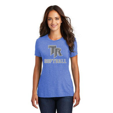 TRHS SOFTBALL – Women's Perfect Tri Crew Tee (Royal Frost)