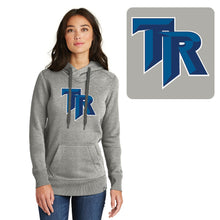 Load image into Gallery viewer, TRHS SOFTBALL – Ladies French Terry Pullover Hoodie (Light Graphite Twist)