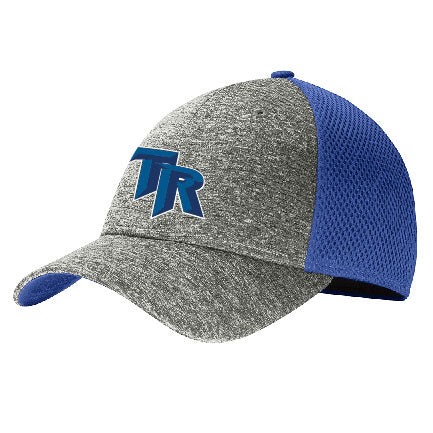 TRHS SOFTBALL – Shadow Stretch Mesh Cap (Royal/Shadow Heather)
