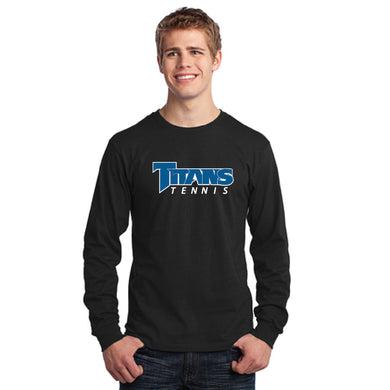 TRHS TENNIS – PC54LS – Long Sleeve Tee (Black)