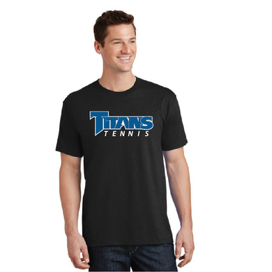 TRHS TENNIS – PC54 – Short Sleeve Tee (Black)