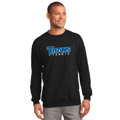 TRHS TENNIS – PC90 – CREW SWEATSHIRT (Black)