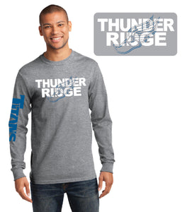 Thunder Ridge HS Track – Long Sleeve Tee **COTTON**