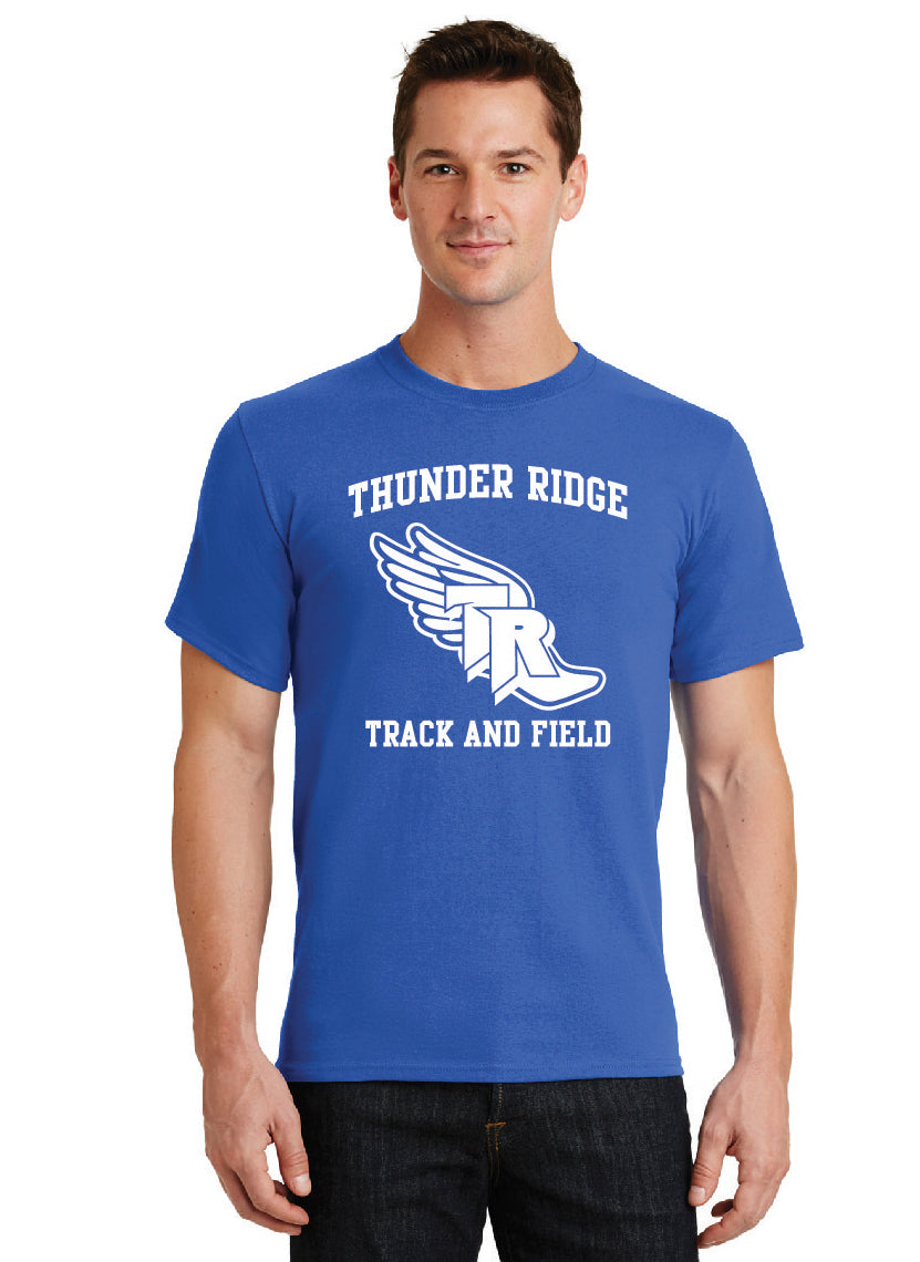 Thunder Ridge HS Track – 50/50 BLEND Royal Tee