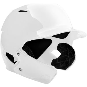 EvoShield Face Shield (only) for XVT BATTING HELMET (White) LHH (Left-Handed Hitter)