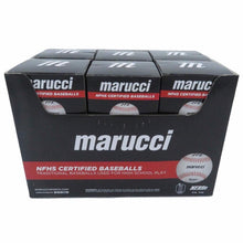 Load image into Gallery viewer, Marucci Sports Equipment Sports, MOBBLR9-12, NFHS Certified Baseballs-Retail Pack