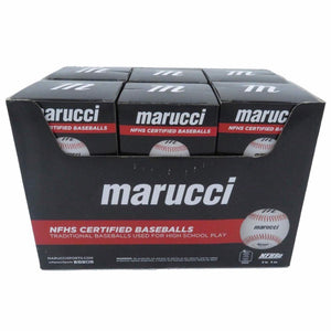 Marucci Sports Equipment Sports, MOBBLR9-12, NFHS Certified Baseballs-Retail Pack