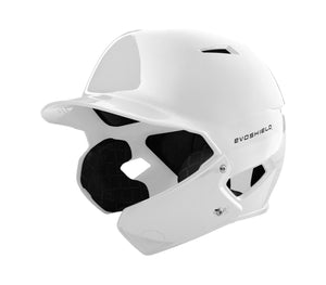 EvoShield Face Shield (only) for XVT BATTING HELMET (White) RHH (Right-Handed Hitter)