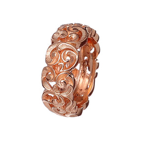 Anello Maria e Luisa Jewels Fascia Media Oro Rosa (4346319536213)