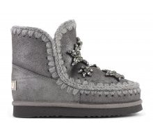 Mou Boots Crystal Stars Grigio (4297117433941)