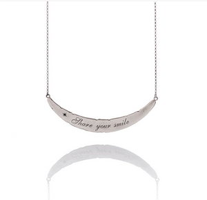 "Collana Otto Message ""Shere your smile"""