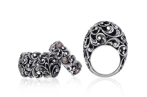 Anello Maria e Luisa Jewels Fascia Media Argento