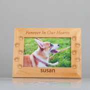 Pet memorial frame, Personalized Custom Picture Frame, Dog frame, Cat frame, Personalized Photo Frame - The Pet Pillow