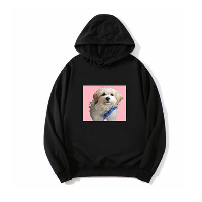 Women's Custom Pet Portrait Hoodie - The Pet Pillow