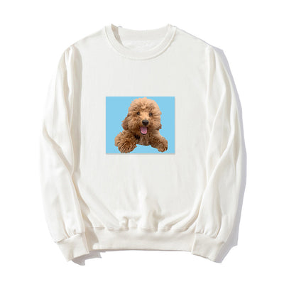 Women's Custom Pet Portrait Long Sleeve Shirt - The Pet Pillow
