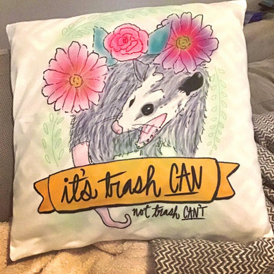 Custom Art Pillow, Print Your Artwork into a Pillow - The Pet Pillow