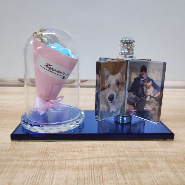Custom Pet Photo Crystal Decorations Creative Gift /Birthday Gift /Mother's Day Gift/ Graduation Season Gift - The Pet Pillow