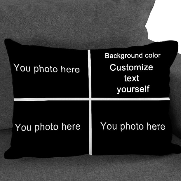 Custom My Pet Pillow from Original Photo, Personalized Pet Picture Pillow for Pet Lovers & Pet Owners - The Pet Pillow