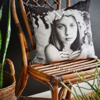 Custom Photo Square Pillow, Put Your Photo on Pillow - The Pet Pillow