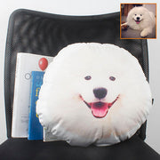 Custom Pet Face Pillow, Dog Head Shaped Pillow from photos, Pet Memorial Gift, Pet Loss Gift, Mother's Day Gift - The Pet Pillow