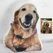 Custom Dog Photo Pillow - Best Gift for Dog Lovers - The Pet Pillow