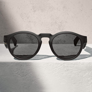 BOSE Frames Rondo Distinct rounded lenses with a smaller fit.