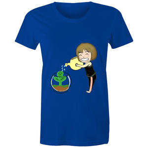 rock.leaf.moss Girl #1 - Sportage Surf - Womens T-shirt
