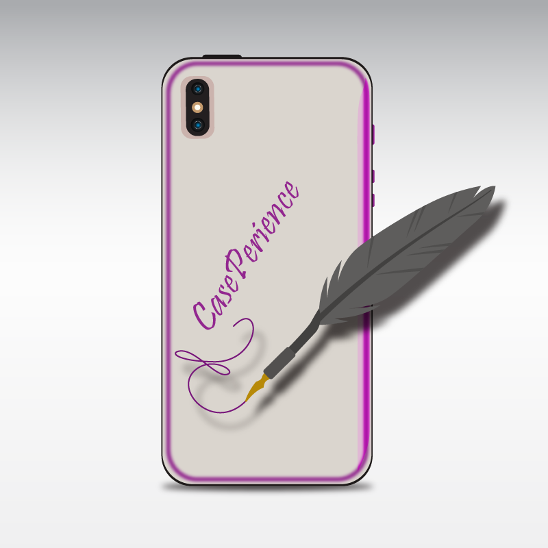 Cool Apple iPhone XS MAX Case with a picture of your choice.