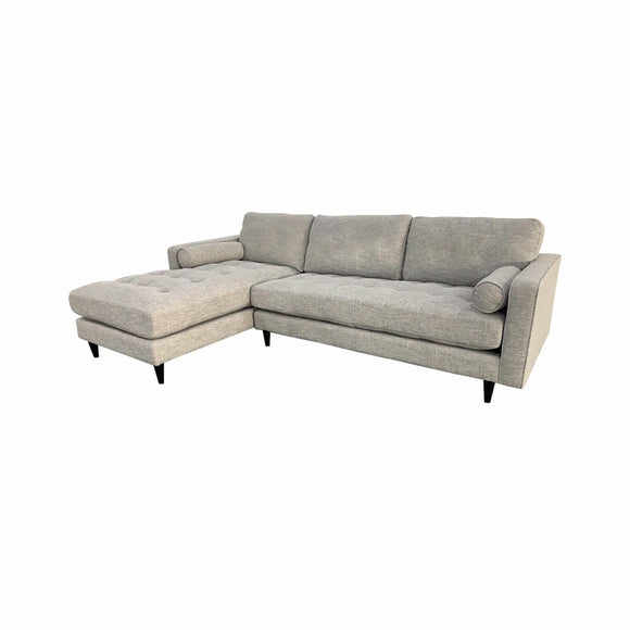 PLUSH GEORGIA LEFT SECTIONAL SOFA