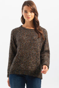 MIX COLOURED KNIT SWEATER