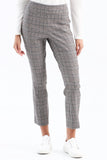 PLAID PULL-ON PANTS