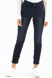 DENIM BLUE-BLACK JEANS