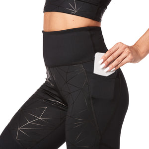 SBZ Don't Mesh with Me - (Squats & Burpees) High Waisted Leggings