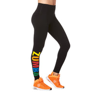 **SHIP NOW ** Zumba® Next Level High Waist Ankle Leggings