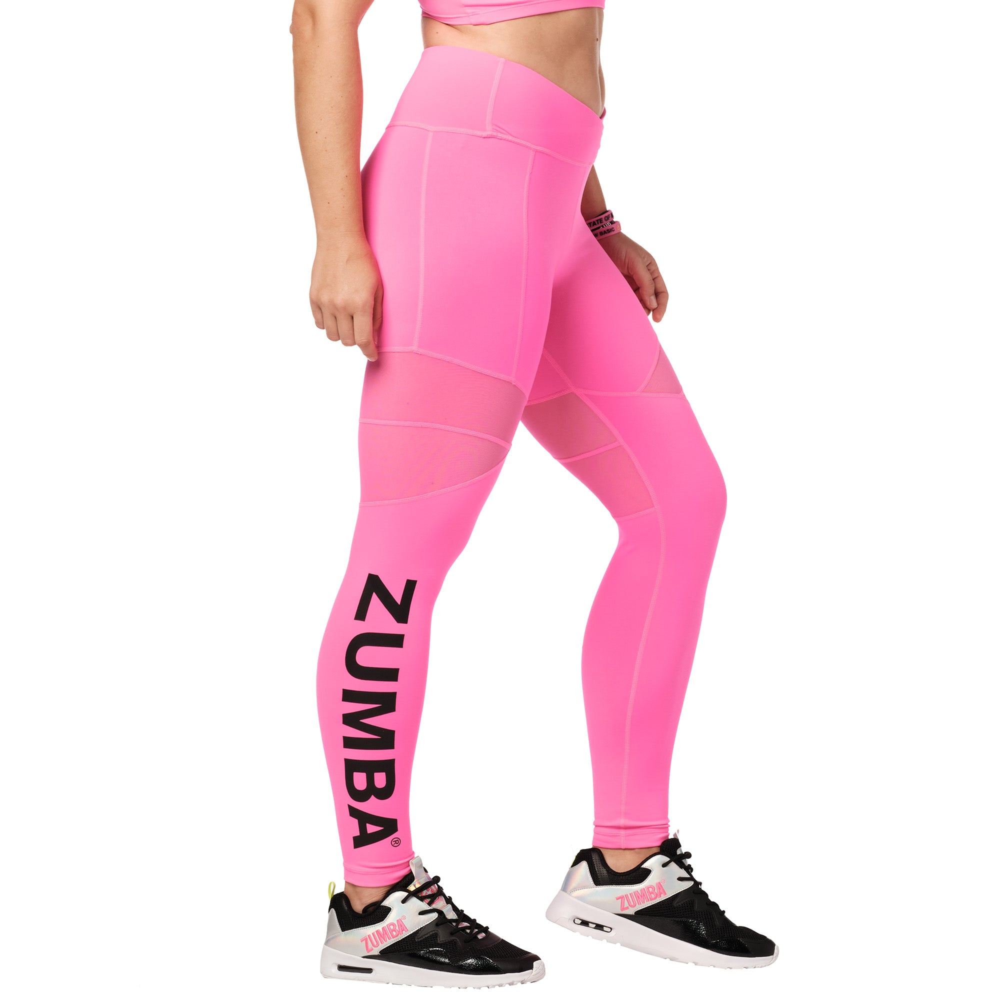 Bright Bold Zumba® Ankle Leggings