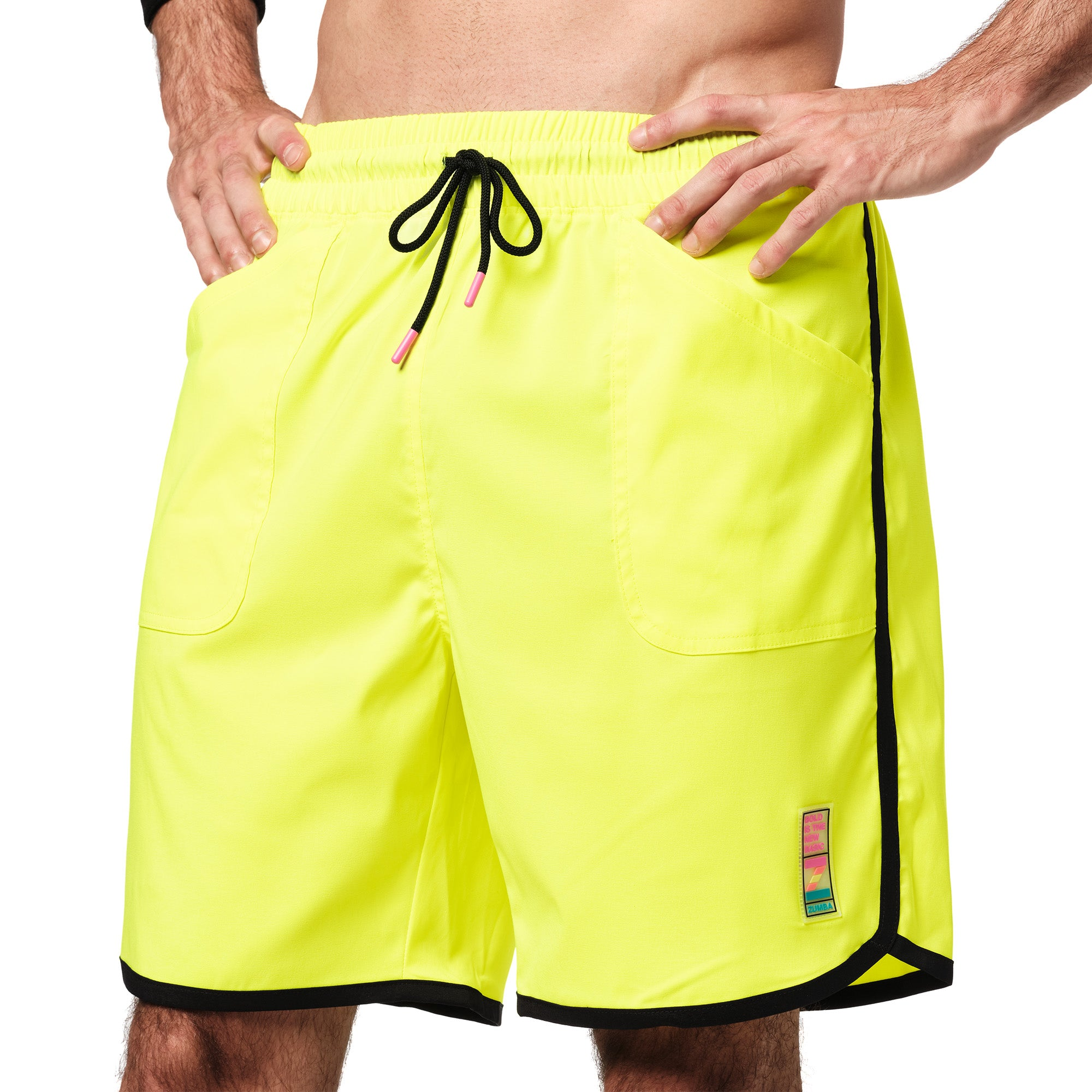 Bright Bold Zumba Men's Shorts