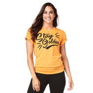 Stay Golden Zumba Gold Instructor Tee - ZIN Membership will be verified