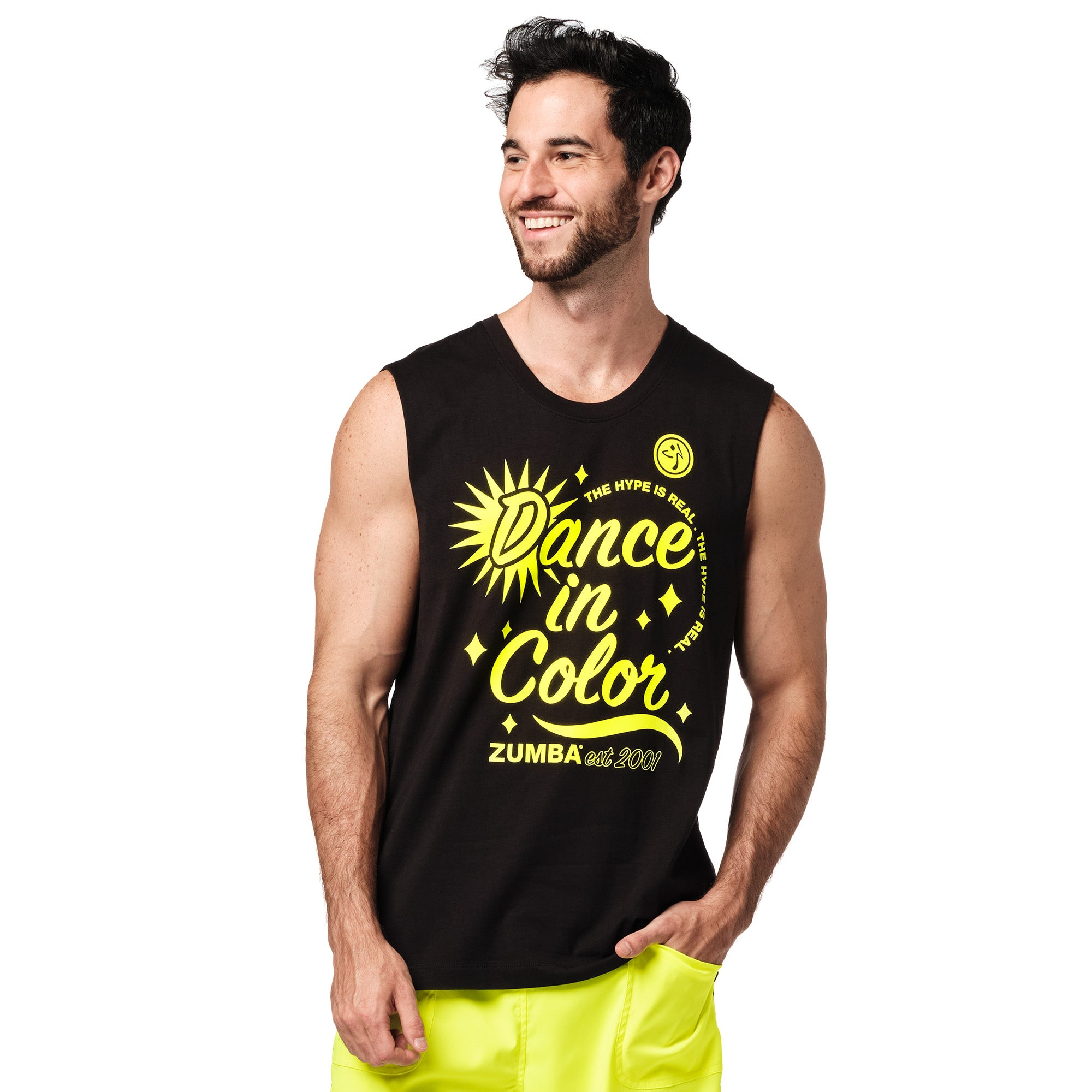 Zumba Dance In Color Muscle Tank